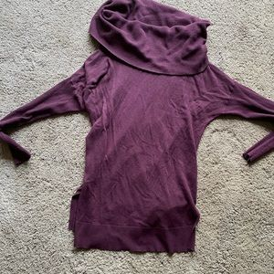 Cowl neck light weight sweater